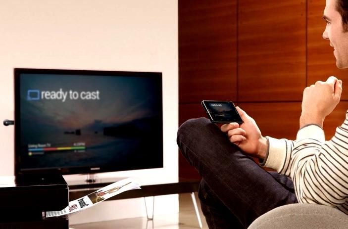 تشغيل الجوال على التلفزيون لا سلكياً أندرويد أو آيفون IOS